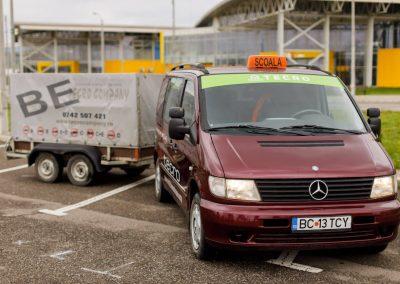 Mercedess Benz 108 CDI — VITO + remorca WEIJER WP 2000